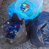 Διαχωρισμός , μεταφορά των πλαστικών καπακιών στο Αθλητικό Σωματείο Άγιος Χριστοφόρος Παιανίας